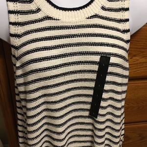 New Banana Republic knit tank top size Large